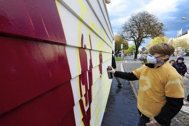 Einblicke in die Welt des Graffiti