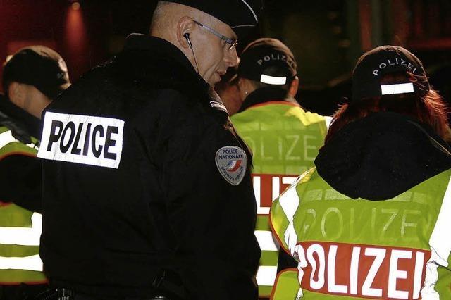 Großeinsatz der Polizei: 600 Personen kontrolliert
