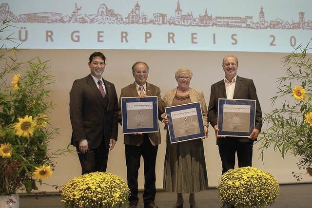 Drei Bürgerpreise für das Ehrenamt