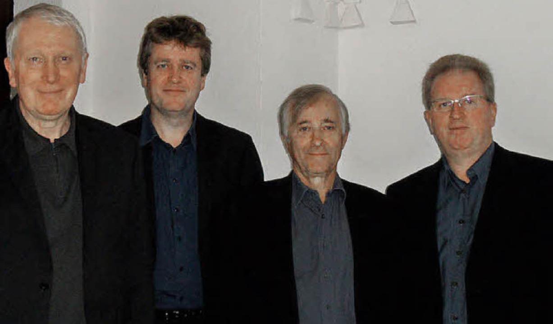 Begeisterte im Dom mit seltener Vokalmusik: Das britische Hilliard-Ensemble.   | Foto: Sigurd Kaiser