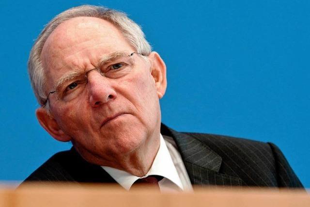 Schäuble schließt Pleite Griechenlands aus