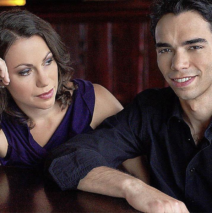 Marie-Luise und Christoph Dingler sind...o leider nicht aufs passende Publikum.  | Foto: PR