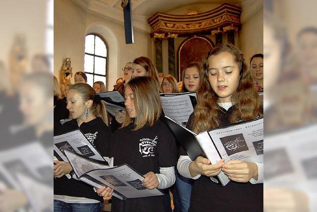 Beim Patrozinium singt der Jugendchor