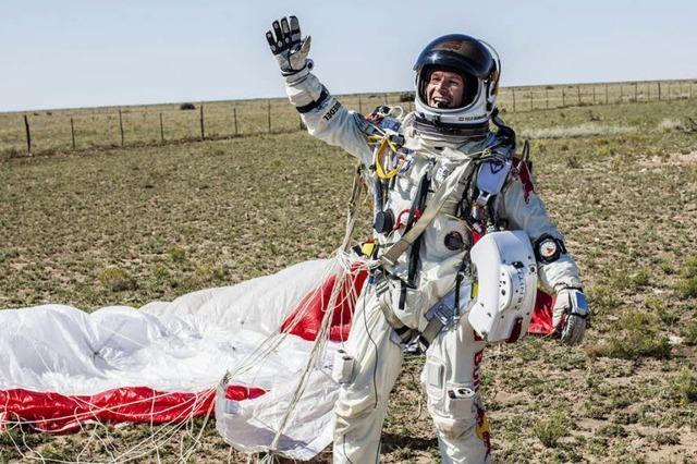 Felix Baumgartner verpasst einen von vier geplanten Rekorden