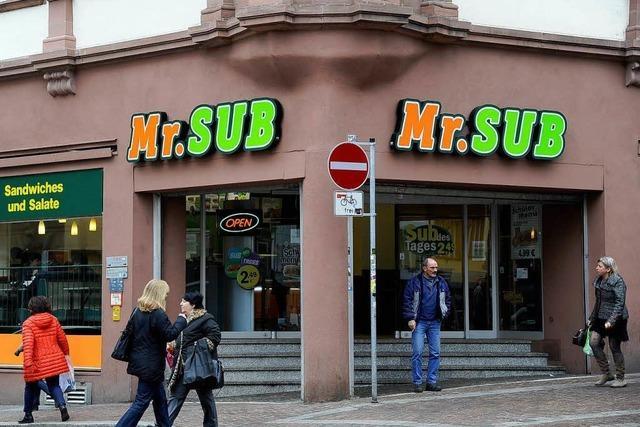 Mr. Sub in Offenburg und Freiburg ist insolvent