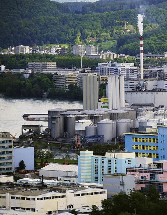 Wie könnte die Zukunft Grenzach-Wyhlen... Schacht? Die Bürger sollen mitreden.   | Foto: Ralf Staub/Erich Meyer