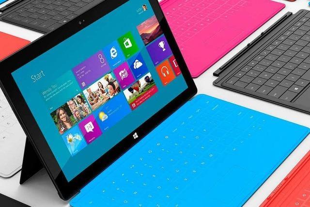 Microsoft-Tablet soll so viel kosten wie das I-Pad
