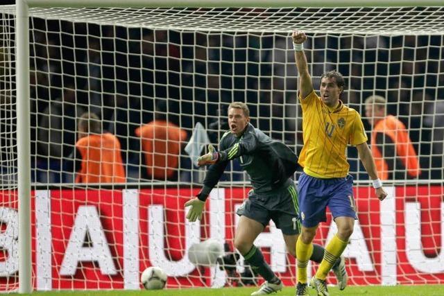 Kollektiv-Blackout: Deutschland gegen Schweden 4:4
