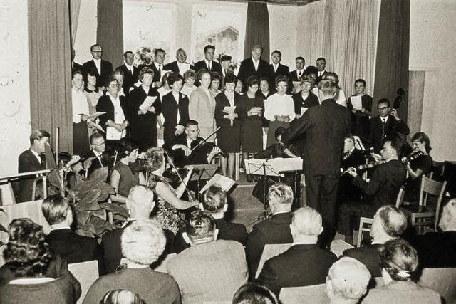 Chor übersteht zwei Weltkriege