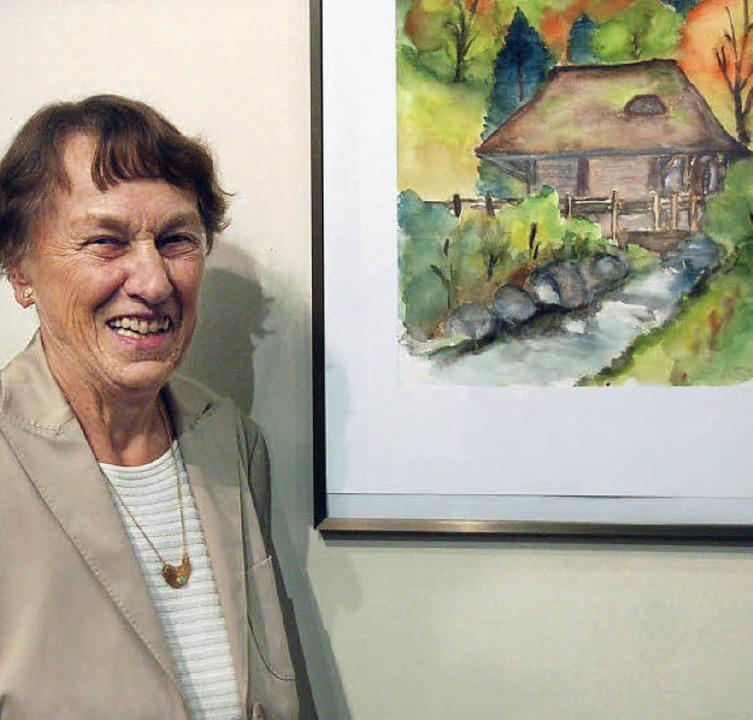 Ausstellung in Gundelfingen zeigt Arbeiten von Ingeborg Kaschig  | Foto: Andrea Steinhart