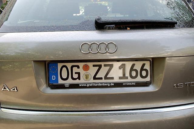 Kreistag entscheidet über regionale Autokennzeichen