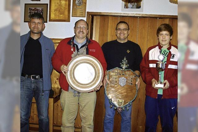 Peter Sackner gewinnt Wettbewerb der Sportschützen