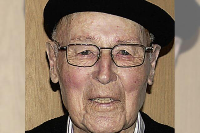 Artur Riesterer im Seniorenheim