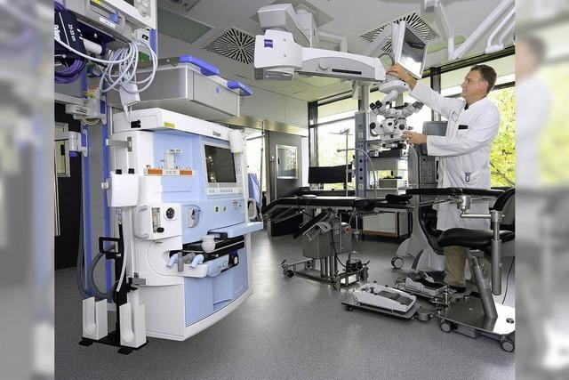 Uni-Augenklinik weiht neue Ambulanz ein