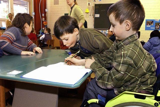 Behindert – nichtbehindert: für Kinder kein Thema