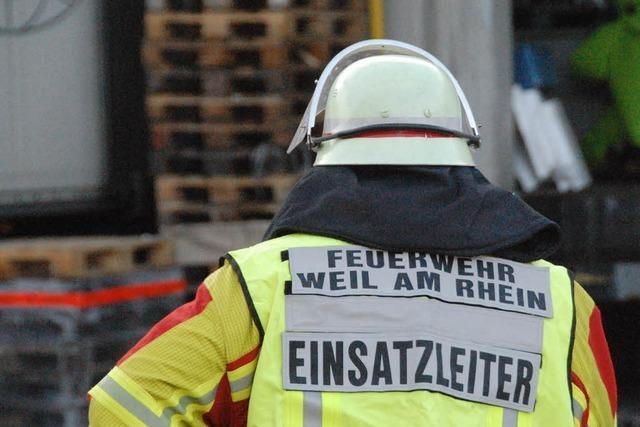 Chemieunfall in Weil am Rhein – 23 Arbeiter verletzt