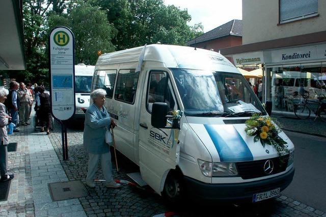 Breisacher Bürgerbus startet im Dezember