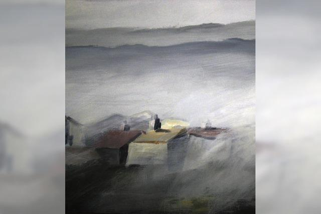 Inszenierung von Nebel und Wolken