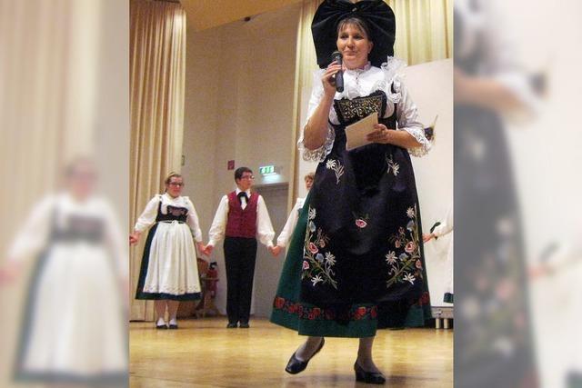 Volkslieder, Tänze und Alphornklänge