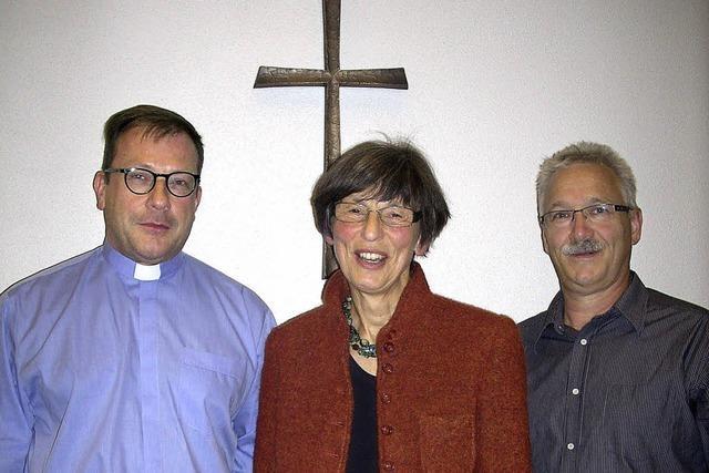 Evi Schmidt leitet den Dekanatsrat