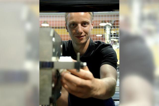Ausbildungsberuf Verfahrensmechaniker: Fabian Bröde ist angetrieben von Antrieben