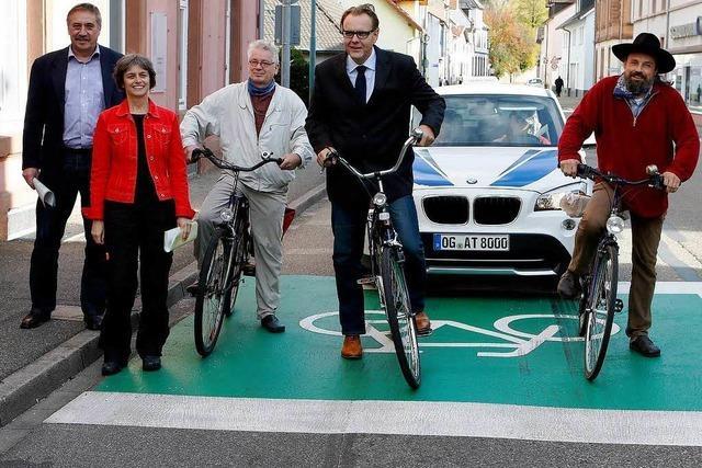 Mehr Sicherheit für die Radfahrer