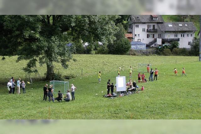 Bolzplatz für die Jugend