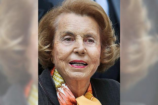 Die reichste Frau Frankreichs ist arm dran