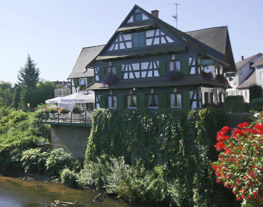 "Idyll in der Ortenau: die ""Kinzigbrücke"" in Willstätt    | Foto: ©RB"