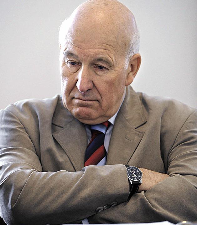Georg Huber wollte sich am Freitag nicht konkret zu den Vorwürfen äußern.  | Foto: dpa