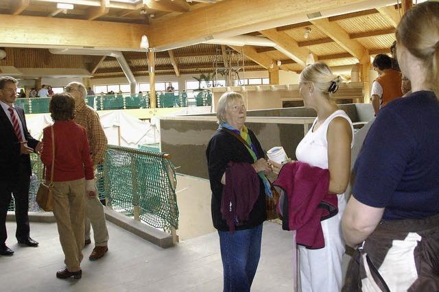 Großes Interesse an Sauna