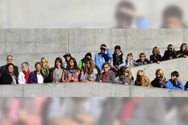 Französische Schüler zu Gast in der Schwanenstadt