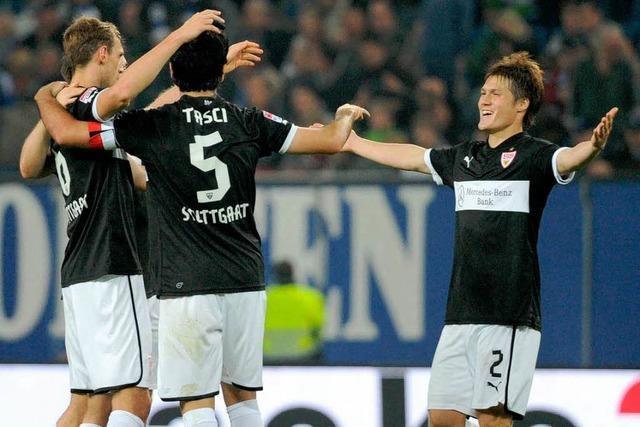 Stuttgart überrascht HSV: 1:0 nach starkem Auftritt