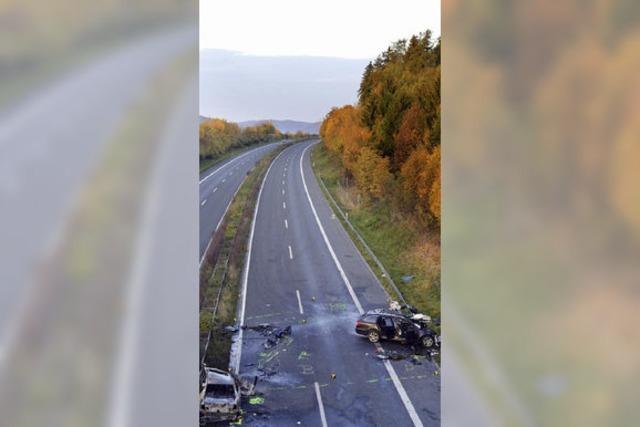 Suizid auf der Autobahn