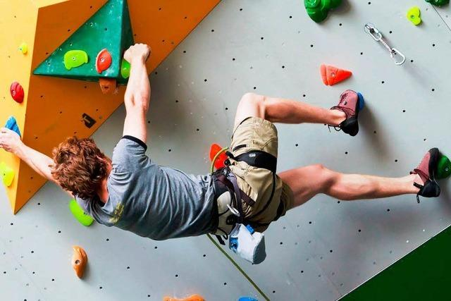 Freiburger Alpenverein weiht seine neue Kletterhalle ein