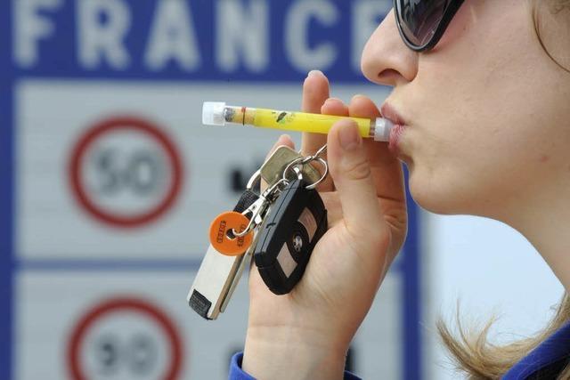 Alkohol-Tests in Frankreich – Bußgelder erst von März an