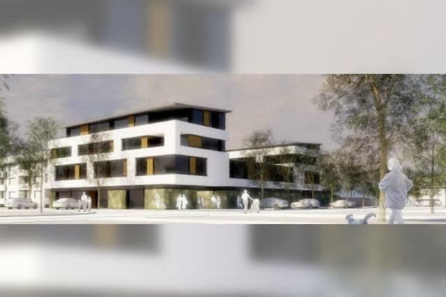 In der Weilerstraße entsteht ein neues Wohn- und Geschäftshaus