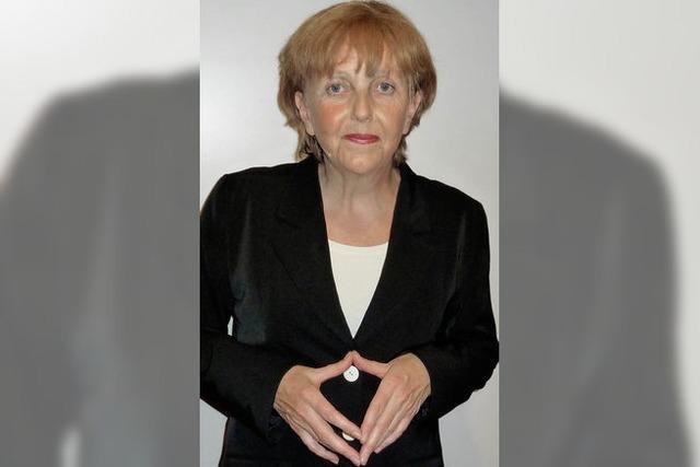 Angela Merkel entzückt die Löffinger