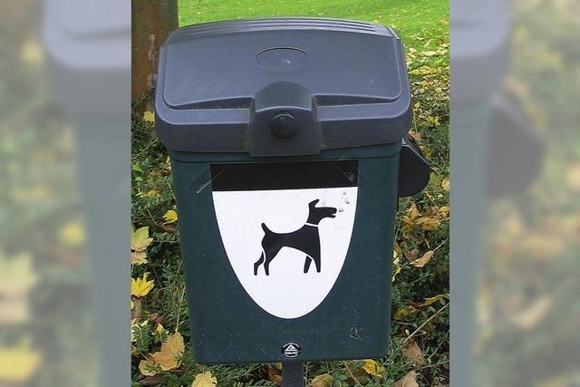 Bad Bellingen kämpft gegen Hundekot