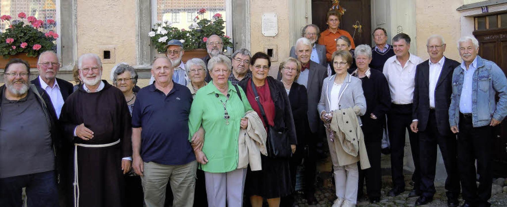 Als Hommage an Stühlingen hielt der Ge...ersammlung in der Hohenlupfenstadt ab.  | Foto: Binner-Schwarz