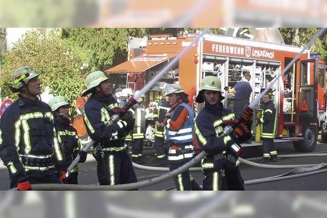 Erfolg für Feuerwehr und Zuschauer