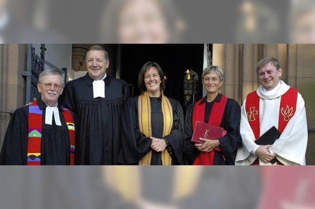 Herzlicher Empfang für die neue Pfarrerin Heike Miller