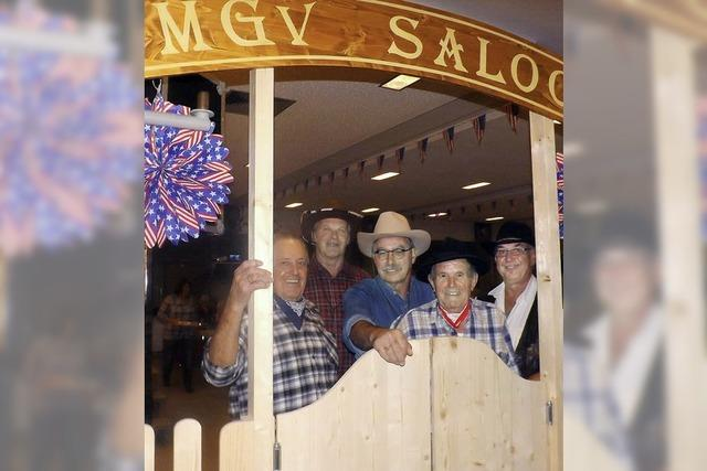 Singende Cowboys lassen es krachen