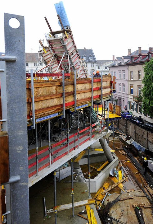 Ein typischer Fall für den Bauingenieu...rsfachwissen und -erfahrung benötigt.   | Foto: Ingo Schneider