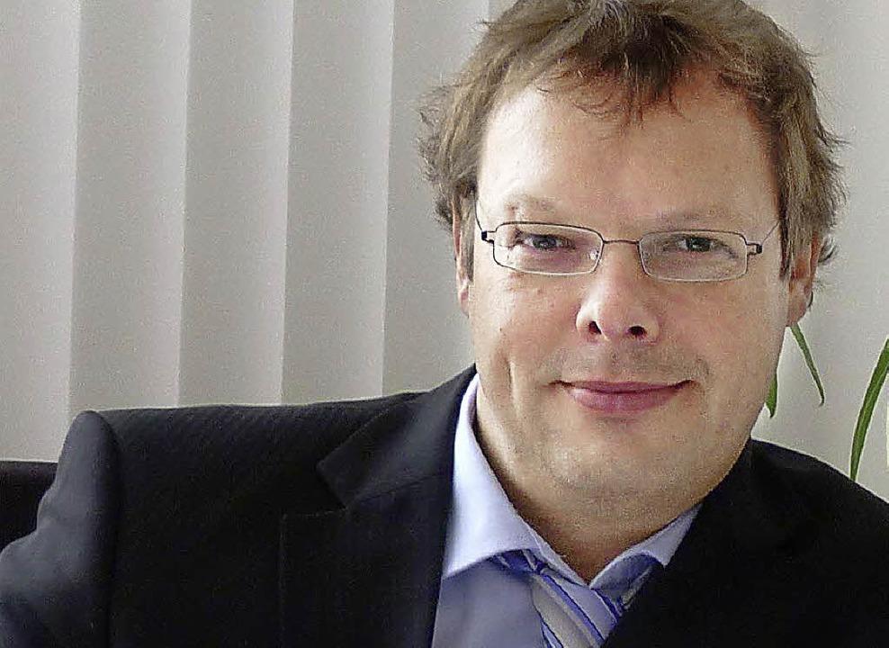 Thomas Dieterle,  Chef der Firma Maxx ...er Econstra-Fachmesse für Ingenieurbau  | Foto: Privat