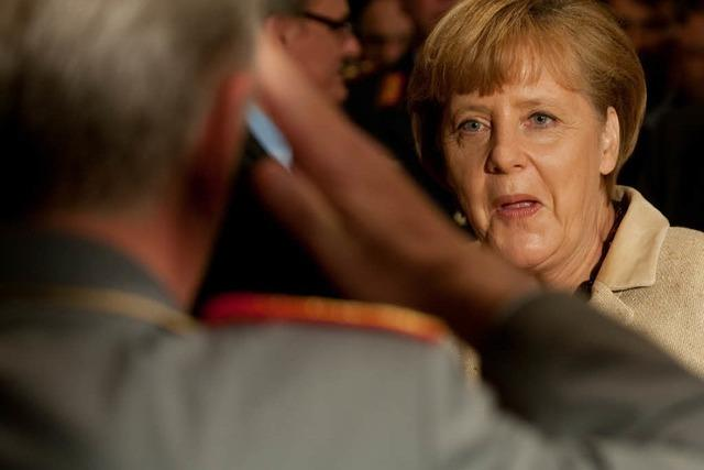 Merkel kündigt Mali-Einsatz an