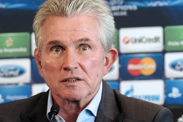 Champions League: Jupp Heynckes verspürt Druck