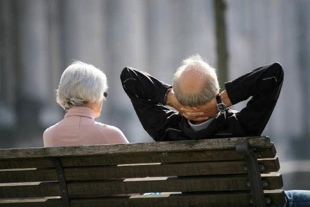 Regierung bastelt an Rentenpaket