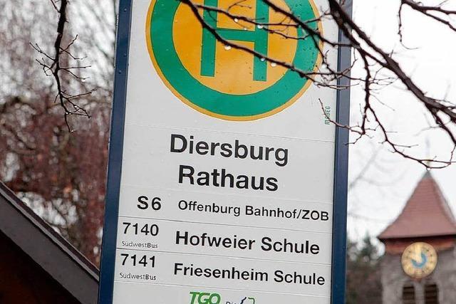 Diersburg bleibt von Lahr vorerst abgehängt