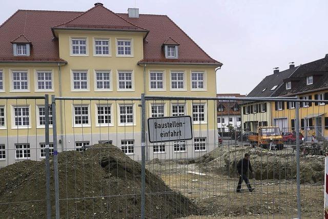 Viele Baustellen in Neuenburg